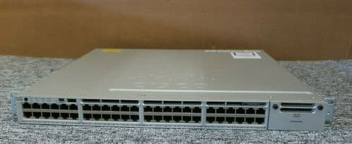 Cisco Catalyst WS-C3850-48T-S 48-Port 1Gb RJ-45 Ports Layer 3 Ethernet Switch